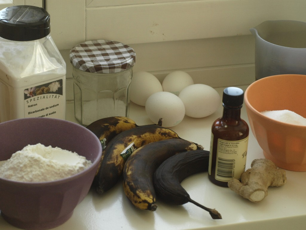 Bananabread step by step