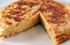 Receta de tortilla de patata vegetal
