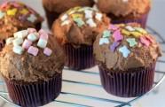 Receta de cupcakes de avellanas y chocolate