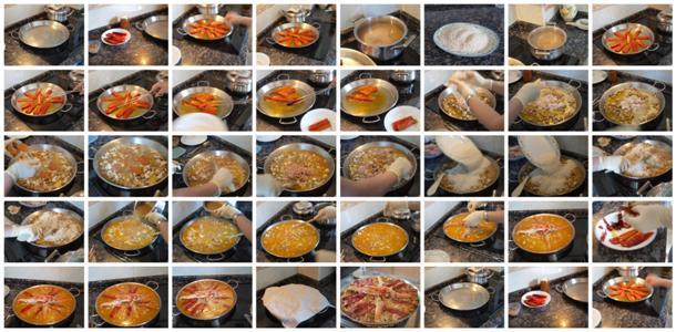 Receta de paella mixta paso a paso