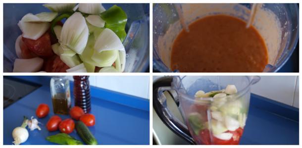 Receta de gazpacho paso a paso