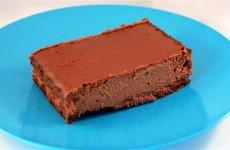 Receta de tarta de queso con chocolate