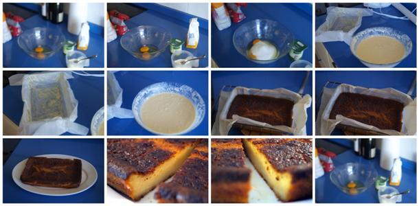 Receta de quesada de yogur paso a paso