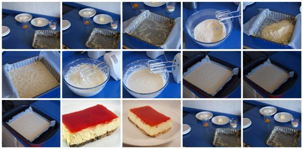 Receta de tarta de queso paso a paso