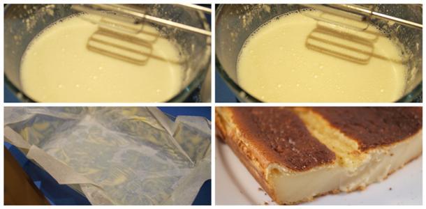quesada de yogur ligera paso a paso