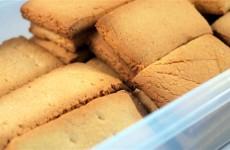 Receta de galletas Yayitas desayuno tostada casera