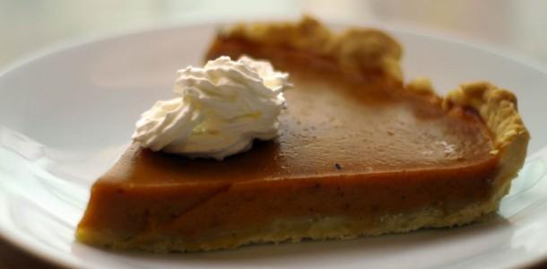 Receta de tarta de calabaza o pumpkin pie