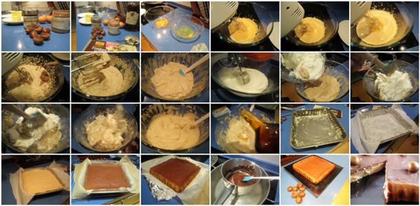 Receta de tarta de castañas paso a paso