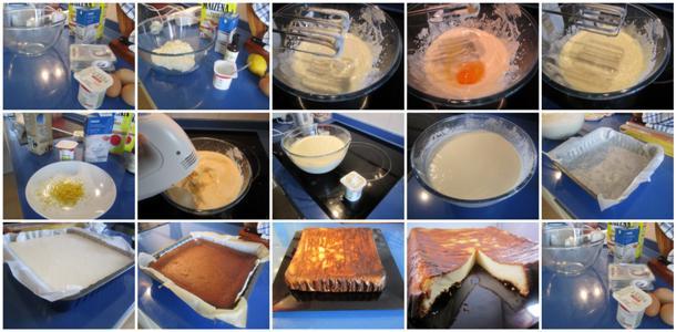 Receta de tarta de queso al horno gallega paso a paso
