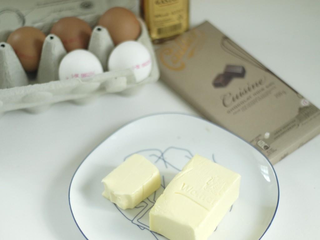 ingredientes tarta castañas