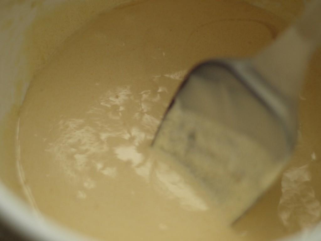 masa crema castañas con claras a punto de nieve