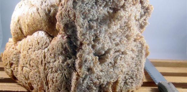 Receta de pan de espelta integral panificadora
