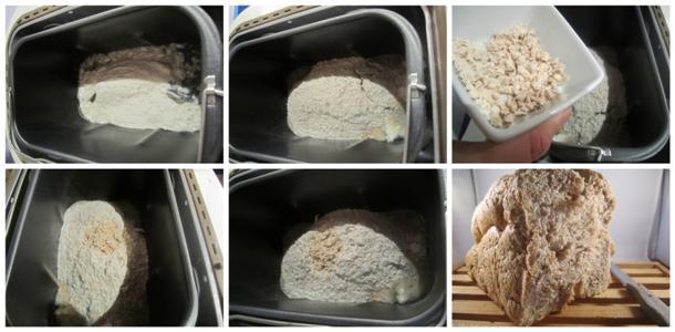 Receta de pan de espelta integral paso a paso