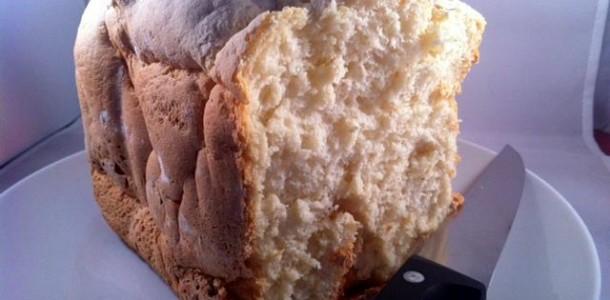 Receta de pan de yogur sin gluten