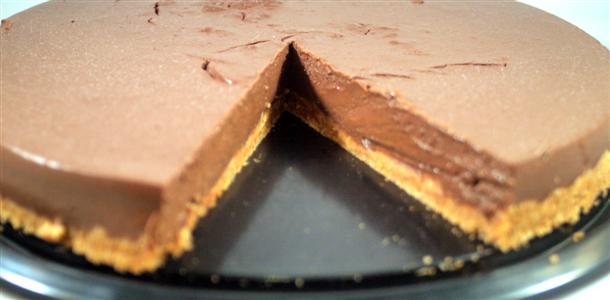 Receta de tarta de chocolate negro