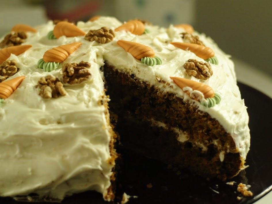 tarta zanahorias