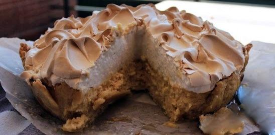 tarta de merengue y limon