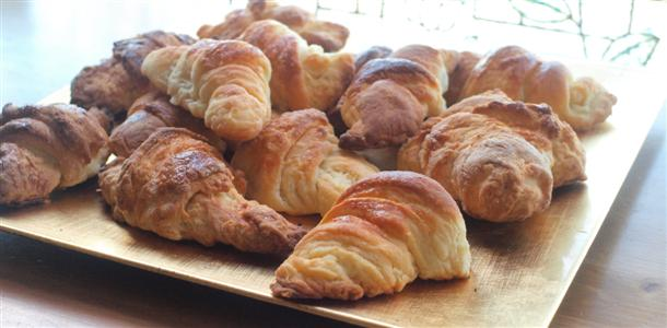 Auténtico croissant francés