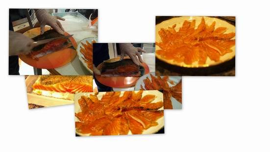 Receta de salmón marinado paso a paso