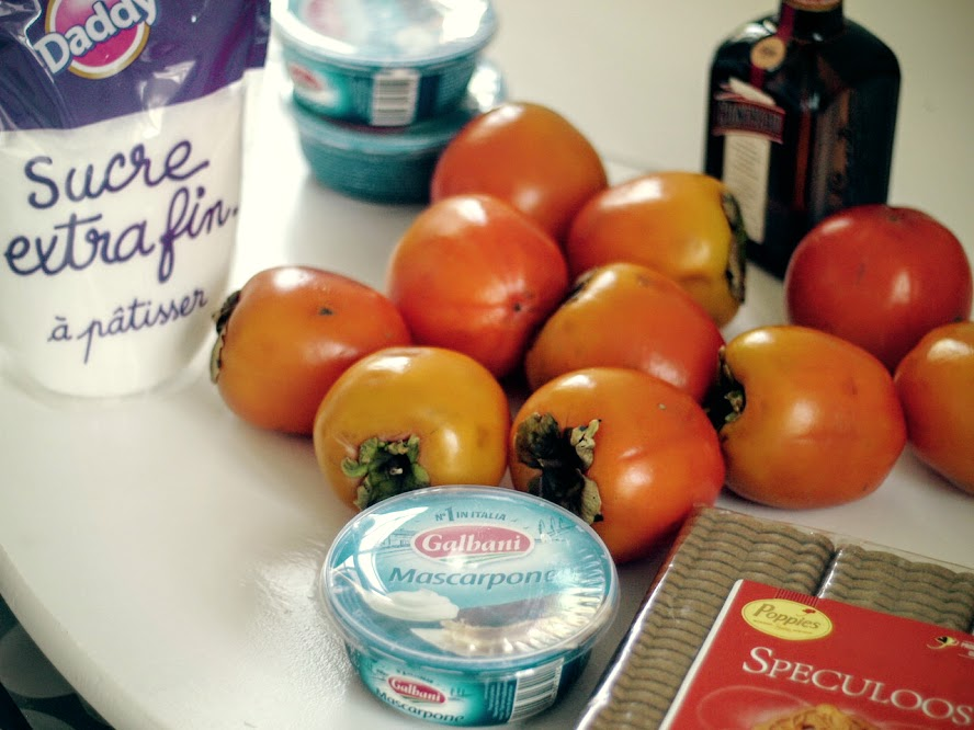 tiramisu-de-kaki-ingredientes