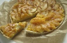 Tarta de frutas con crema pastelera de Werthers