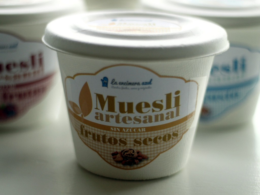 muesli de frutos secos