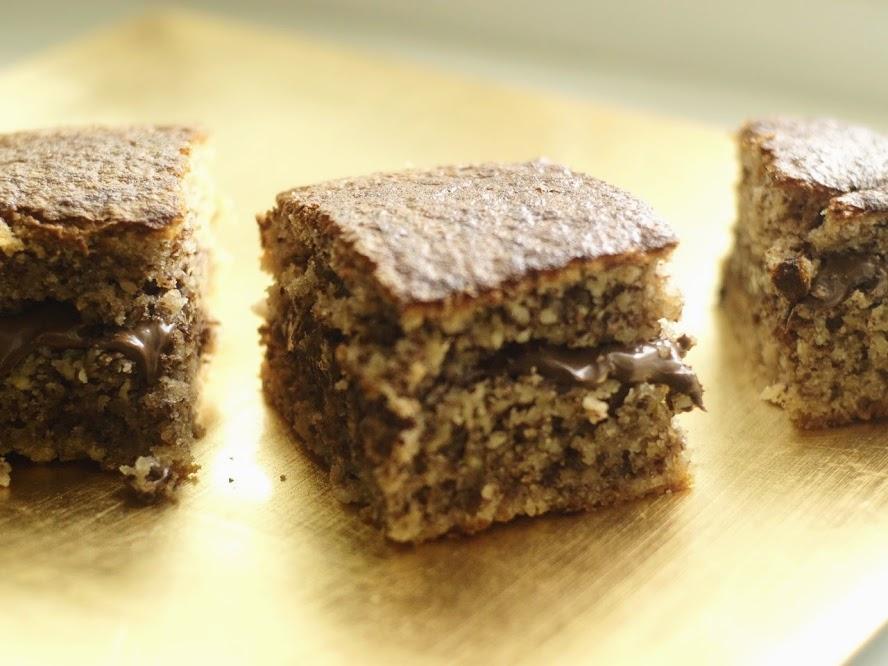 Bizcocho de avellanas con Kirsch y Nutella3