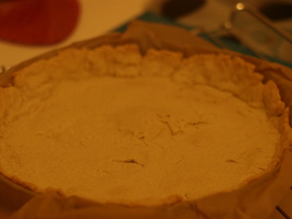 base de la tarta