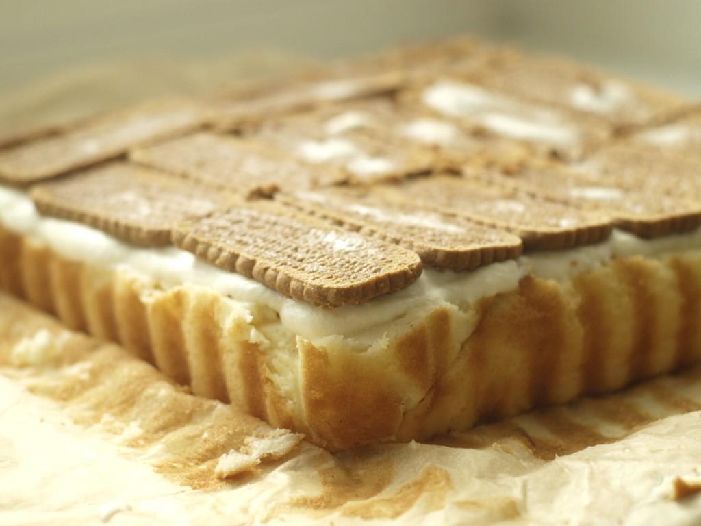 tarta de queso con tiramisú