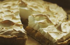 rhubarbe meringue pie