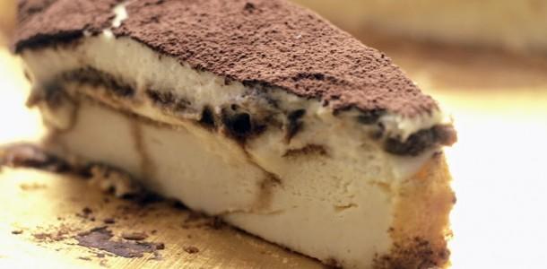 cheesecake with tiramisu