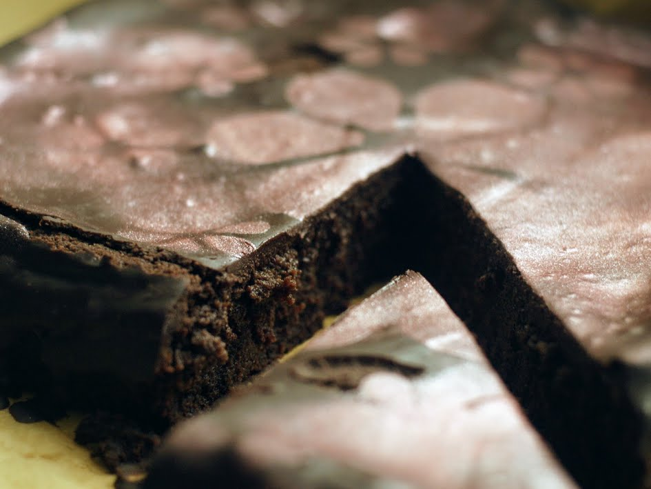 tarta chocolate negro