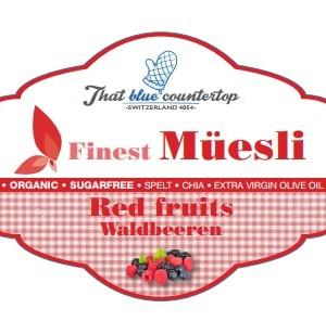 finest fresh muesli