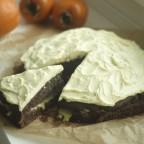 Tarta de Naranja y Kaki Persimon