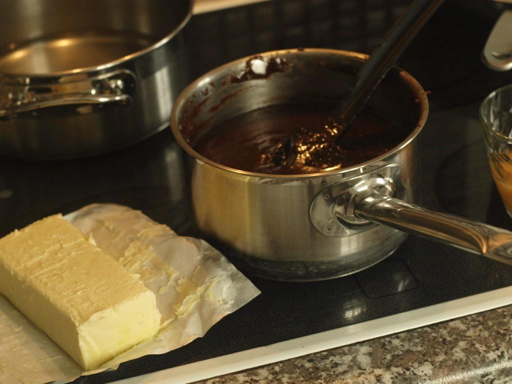 Tarta de Chocolate y Avellanas paso a paso